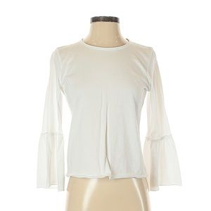 Abercrombie and Fitch White Blouse size Small